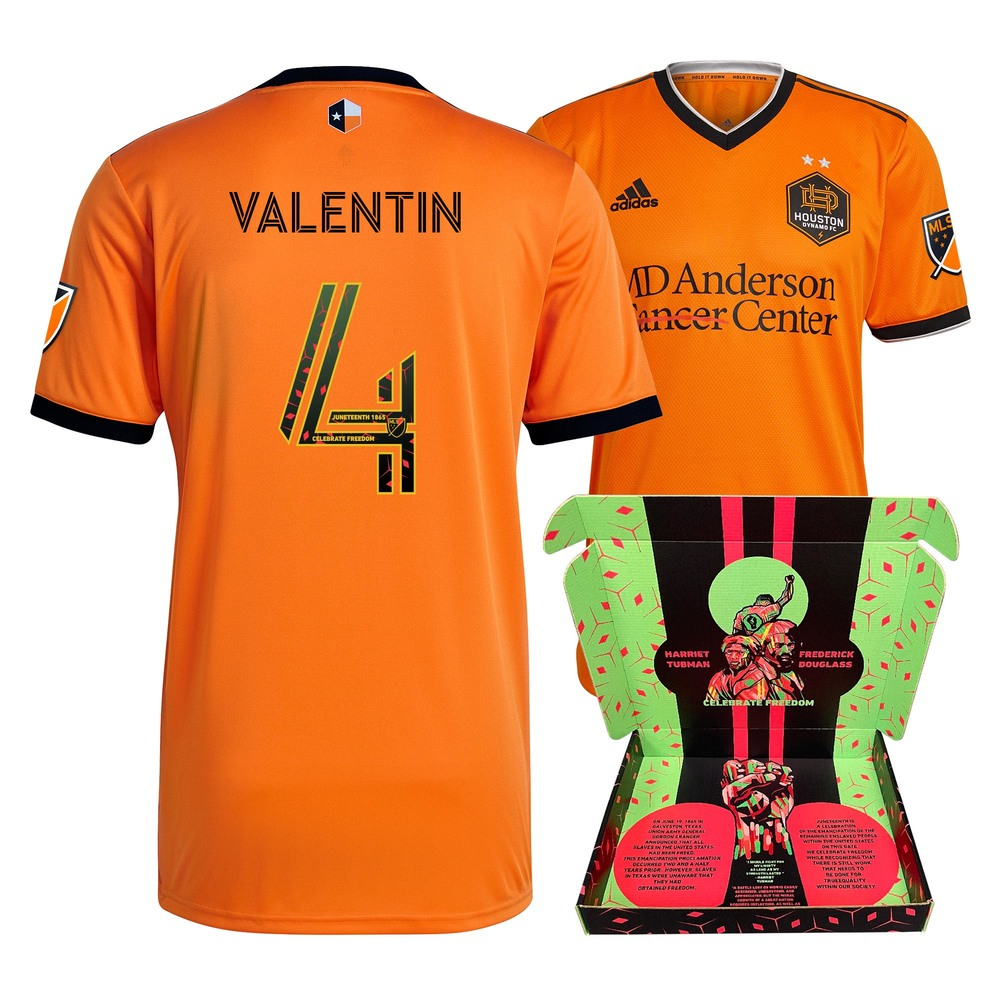 Zarke Valentin Houston Dynamo FC Match-Used & Signed