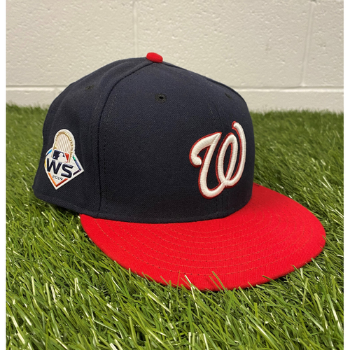Photo of #86 Team-Issued 2019 World Series Hat