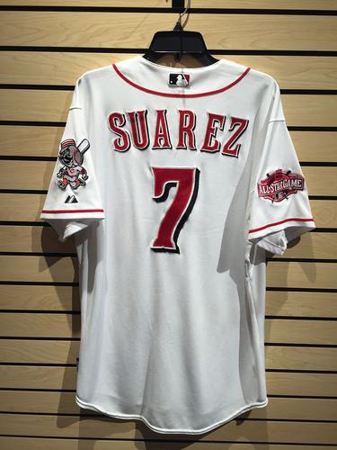 half off 7750f c62de MLB Auctions | Eugenio Suarez Game-Used Jersey HZ952922