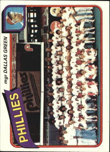 Photo of 1980 Topps #526 Philadelphia Phillies CL/Dallas Green MG