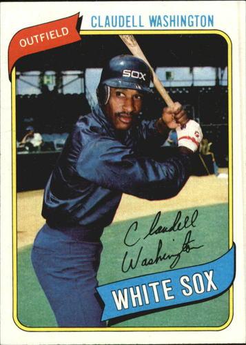 Photo of 1980 Topps #322 Claudell Washington