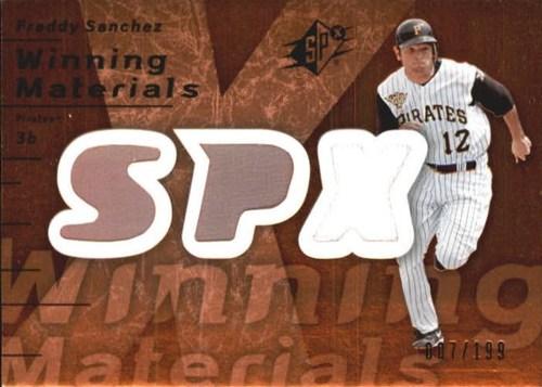 Photo of 2007 SPx Winning Materials 199 Bronze #FS Freddy Sanchez/199