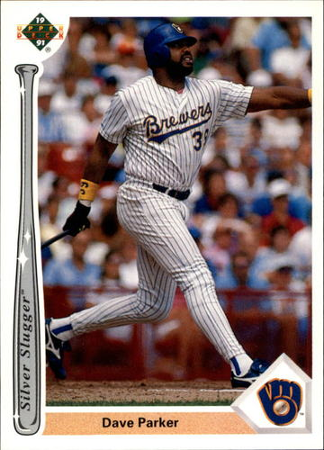 Photo of 1991 Upper Deck Silver Sluggers #SS14 Dave Parker