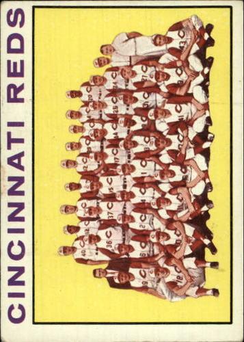 Photo of 1964 Topps #403 Cincinnati Reds TC