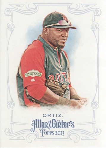 Photo of 2013 Topps Allen and Ginter #133 David Ortiz