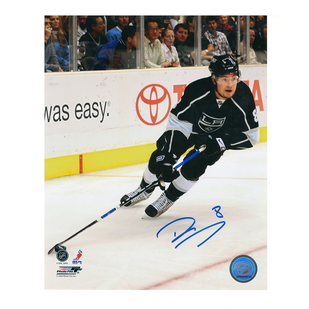DREW DOUGHTY Signed Los Angeles Kings 8 X 10 Photo - 70183