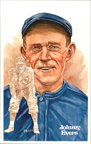 Photo of 1980-02 Perez-Steele Hall of Fame Postcards #42 Johnny Evers  -- HOF Class of 1946
