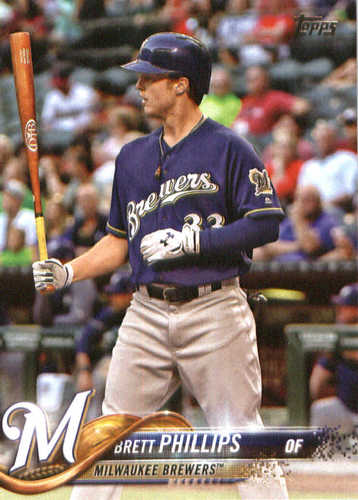 Photo of 2018 Topps #202 Brett Phillips