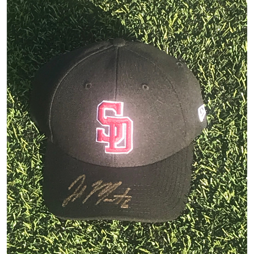 Photo of Jake Marisnick Autographed and Game-Used Stoneman Douglas Eagles Cap