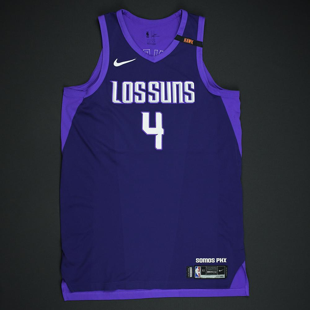 Tyson Chandler - Phoenix Suns - Game-Worn 'Los Suns' City Jersey - 2017-18 Season