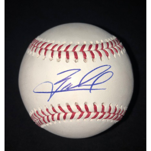 Photo of Zack Collins Autographed Baseball