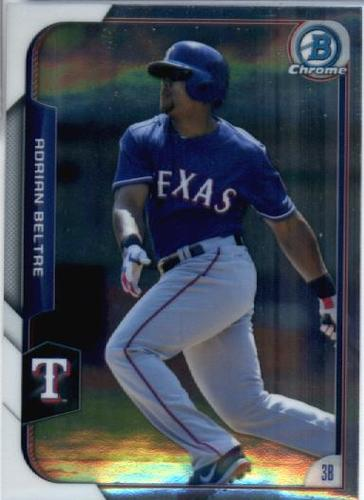 Photo of 2015 Bowman Chrome #144 Adrian Beltre