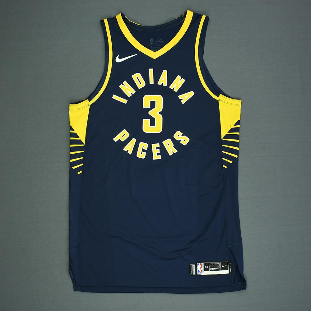 Aaron Holiday - Indiana Pacers - 2018 NBA Draft - Autographed Jersey