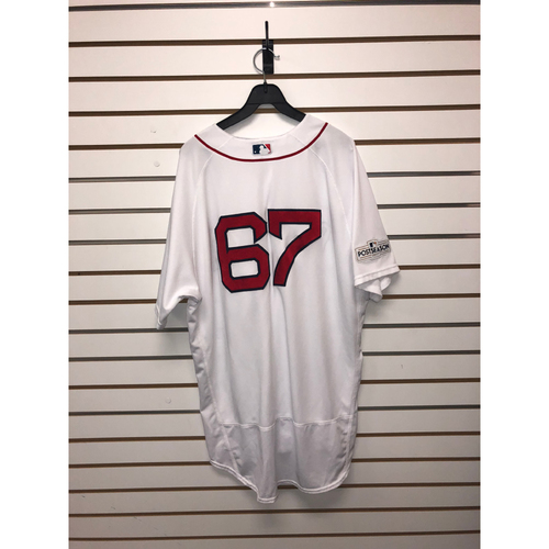 Photo of Brandon Workman Team Issued 2017 Home Jersey