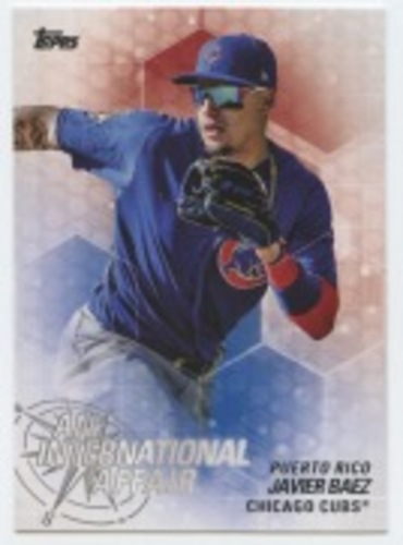 Photo of 2018 Topps Update An International Affair #IA35 Javier Baez