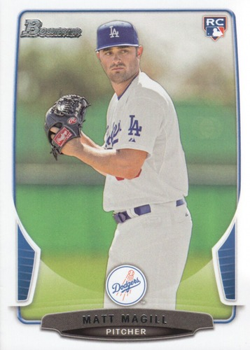 Photo of 2013 Bowman Draft #42 Matt Magill RC