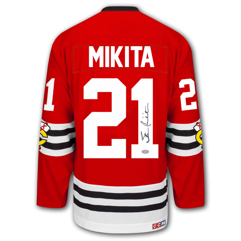Stan Mikita Chicago Blackhawks CCM Autographed Jersey