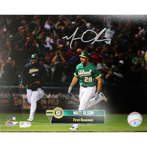 "Photo of Matt Olson Autographed 8""x10"" Photo"