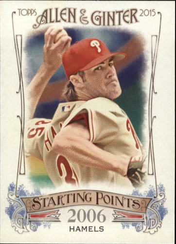 Photo of 2015 Topps Allen and Ginter Starting Points #SP66 Cole Hamels
