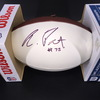 NFL - Saints Andrus Peat Signed Panel Ball