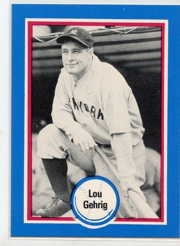 Photo of 1976 Shakey's Pizza #18 Lou Gehrig