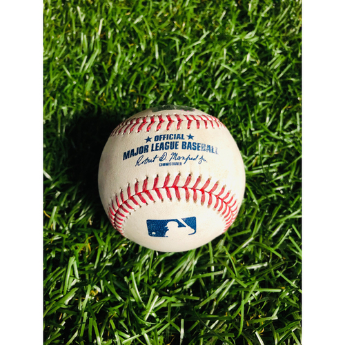 Photo of Game Used Baseball: J.P. Crawford triple off Charlie Morton - August 21, 2019 v SEA