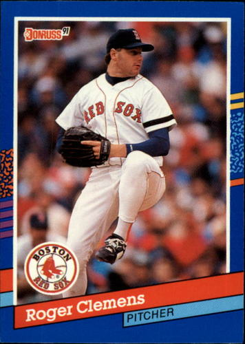 Photo of 1991 Donruss #81 Roger Clemens