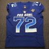 NFL - Saints Terron Armstead Game Issued 2019 Pro Bowl Jersey Size 46