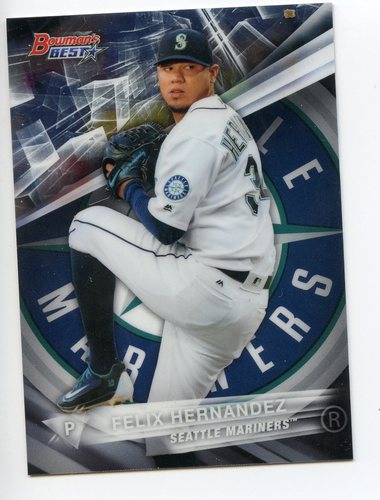 Photo of 2016 Bowman's Best #62 Felix Hernandez