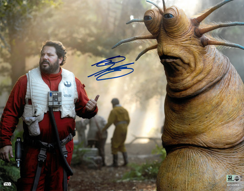 Greg Grunberg As Snap Wexley 11X14 AUTOGRAPHED IN 'Blue' INK PHOTO
