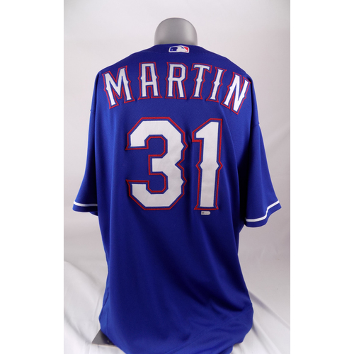 Photo of Game-Used Blue Jersey - Chris Martin - 6/22/2018
