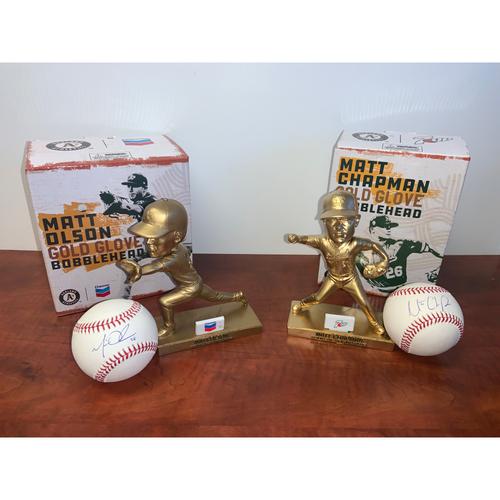 Photo of Oakland A's Community Fund: Gold Glove Package