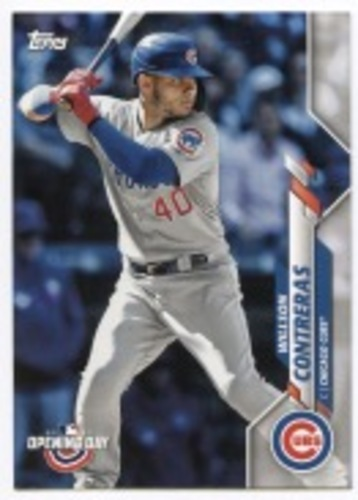Photo of 2020 Topps Opening Day #24 Willson Contreras