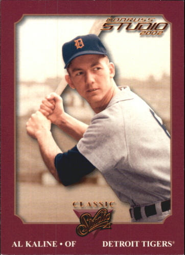 Photo of 2002 Studio Classic #13 Al Kaline