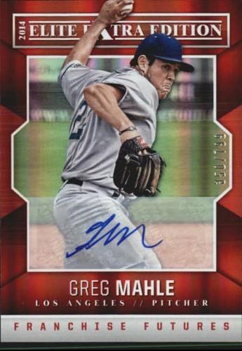 Photo of 2014 Elite Extra Edition Franchise Futures Signatures #45 Greg Mahle/799