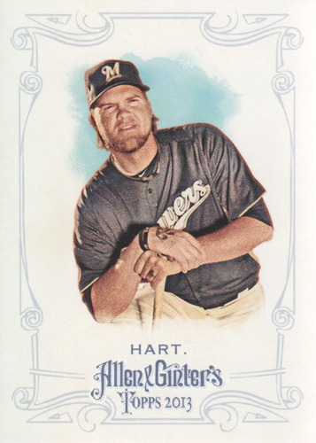 Photo of 2013 Topps Allen and Ginter #111 Corey Hart