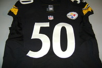 STS - STEELERS RYAN SHAZIER GAME ISSUED STEELERS JERSEY (2016)