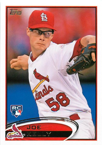 Photo of 2012 Topps Update #US242 Joe Kelly Rookie Card