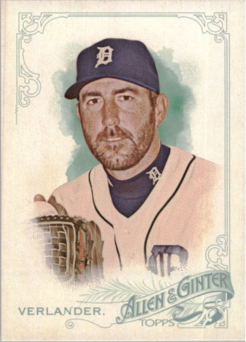 Photo of 2015 Topps Allen and Ginter Mini #15 Justin Verlander
