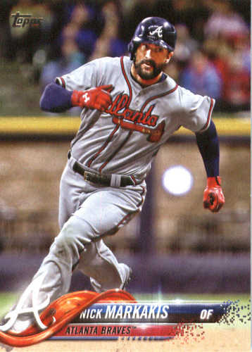 Photo of 2018 Topps #206 Nick Markakis