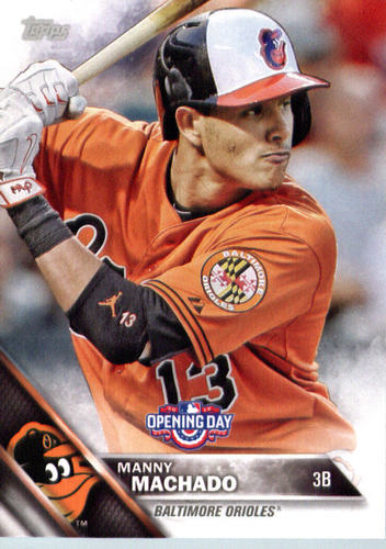 Photo of 2016 Topps Opening Day #OD104 Manny Machado