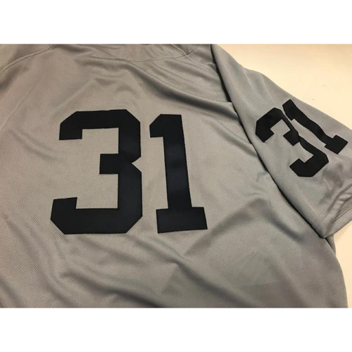 Photo of Team-Issued 1968 World Series 50th Anniversary Jersey: Ryan Carpenter