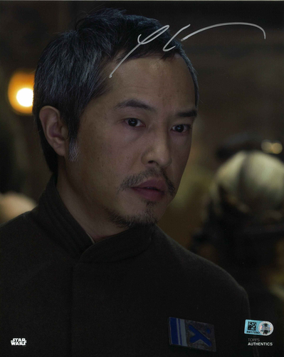 Ken Leung As Admiral Statura 8x10 Autographed In Silver Ink Photo