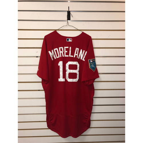 Photo of Mitch Moreland Team-Issued 2018 Spring Training Jersey