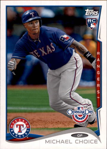 Photo of 2014 Topps Opening Day #117 Michael Choice RC