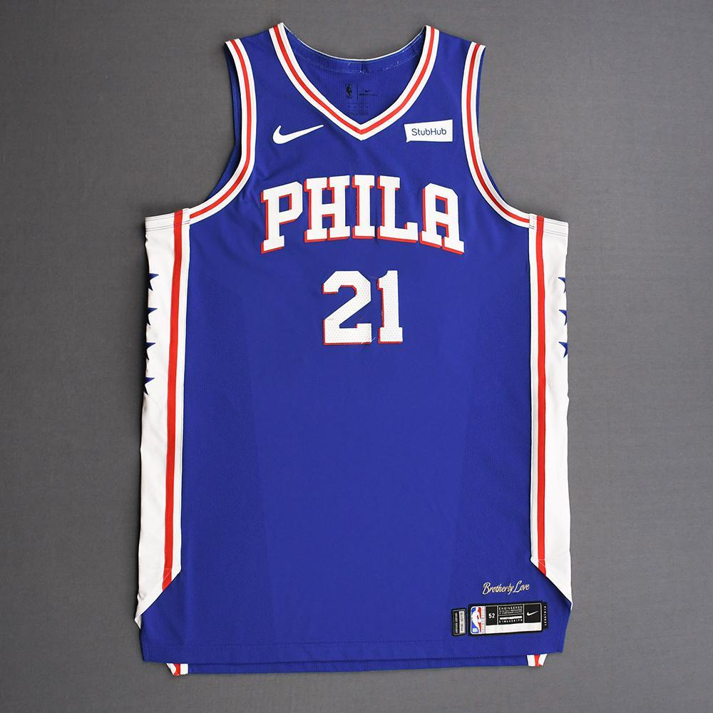 Joel Embiid - Philadelphia 76ers - 2019 NBA Playoffs - Game