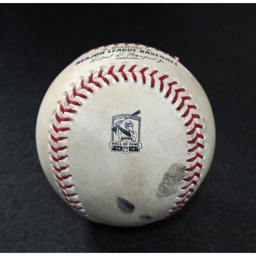Photo of Game-Used Baseball - Pitcher: Wade LeBlanc, Batter: Willy Adames (Foul Ball) - 8/11/19 vs. TB