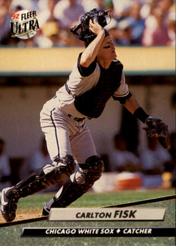 Photo of 1992 Ultra #33 Carlton Fisk