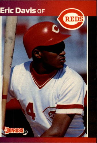 Photo of 1989 Donruss #80 Eric Davis
