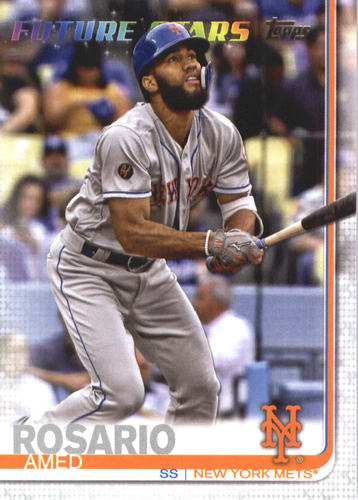 Photo of 2019 Topps #624 Amed Rosario FS